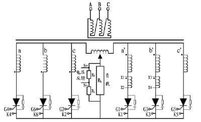 触发可控硅全控整流电路